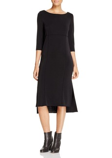DKNY High Low Seamed Dress - 100% Exclusive