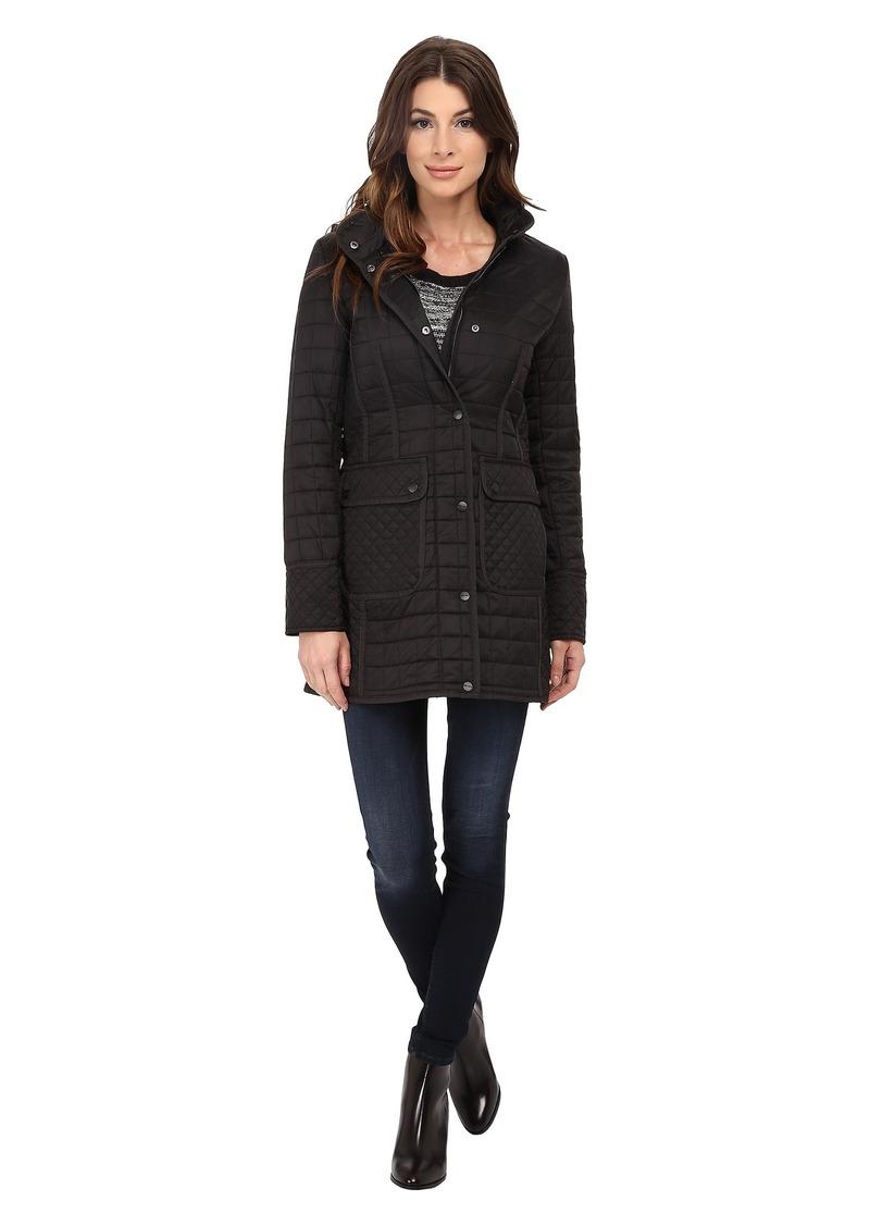 DKNY Hooded 3/4 w/ Patch Pockets 53414-Y5