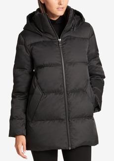 Dkny Hooded Puffer Coat