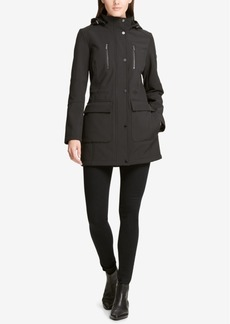 Dkny Hooded Raincoat, Created for Macy's
