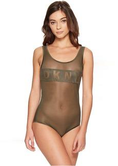 DKNY Intimates Blocked Logo Bodysuit