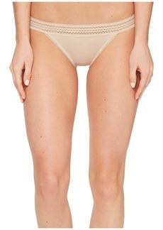 DKNY Classic Cotton Bikini Lace Trim