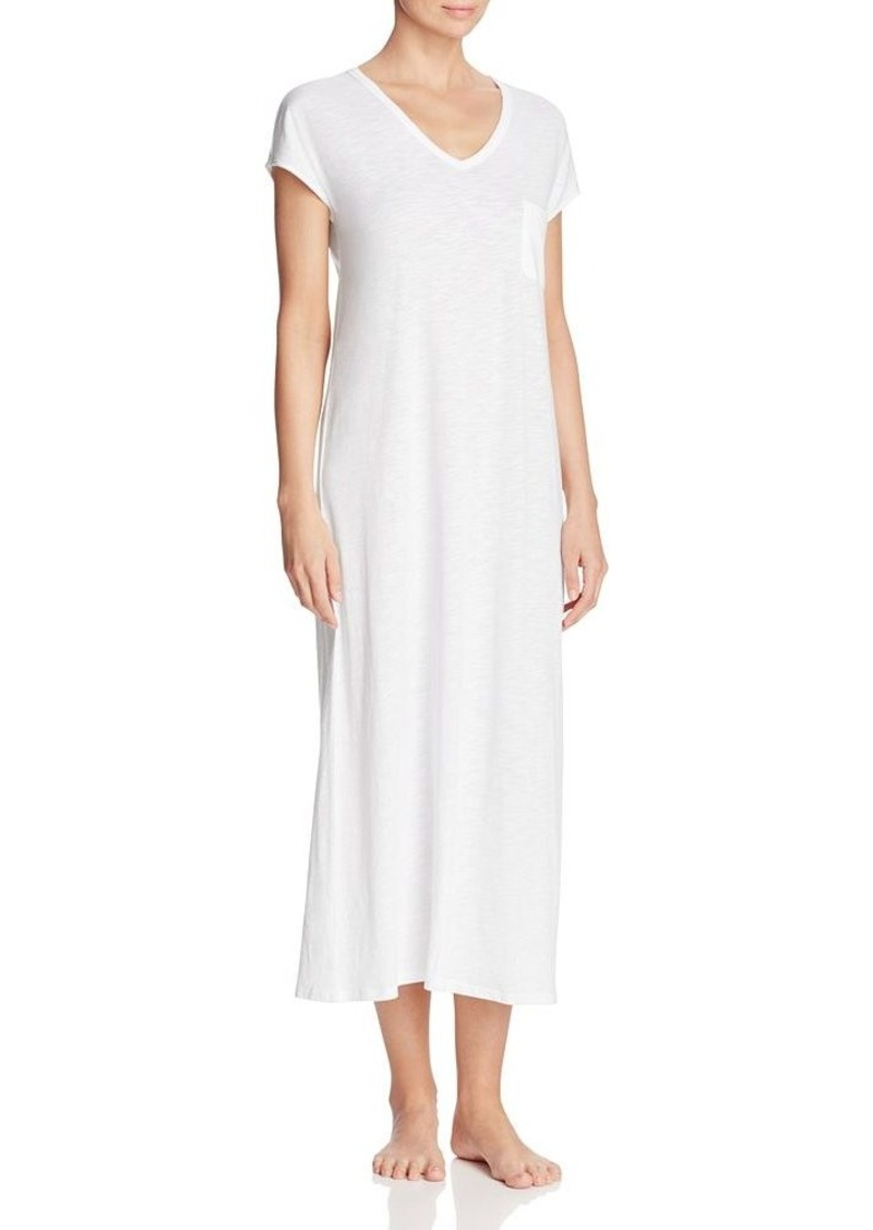 ca16a144dd907 DKNY DKNY Intimates Go With The Flow Short Sleeve Maxi Sleepshirt ...