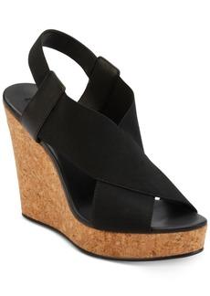 Dkny Jamara Wedge Sandals, Created for Macy's