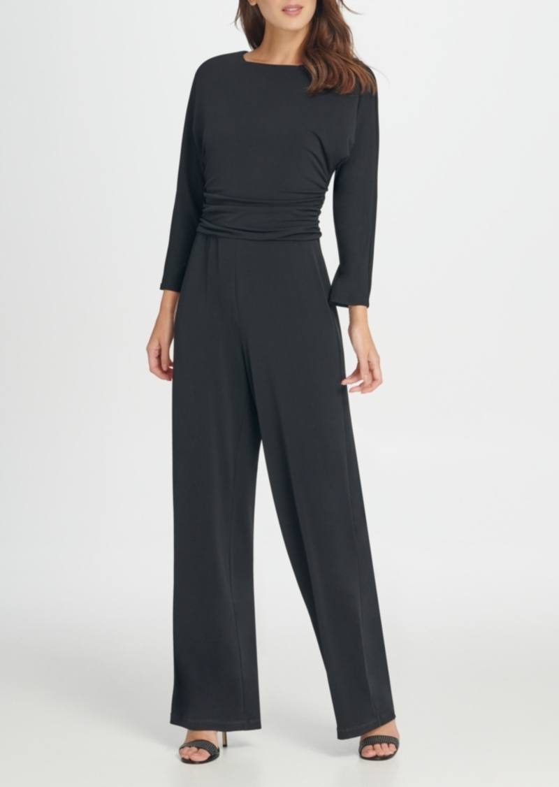 Dkny Jersey Ruched Top Jumpsuit