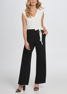 Dkny Jumpsuit with Shoulder Detail
