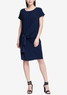 Dkny Knot-Front Dress, Created for Macy's