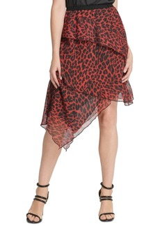 Dkny Layered Asymmetrical Skirt
