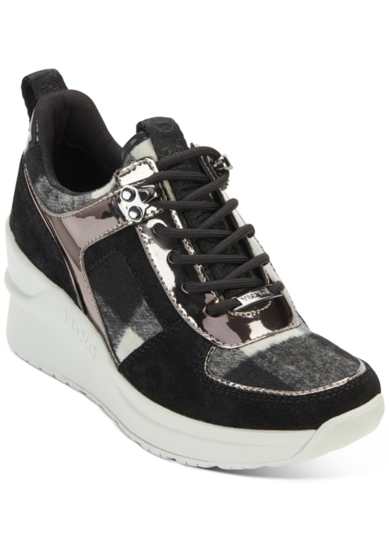 Dkny Leo Wedge Sneakers, Created For Macy's