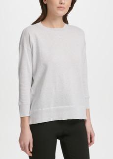 Dkny Lightweight Shimmer Sweater