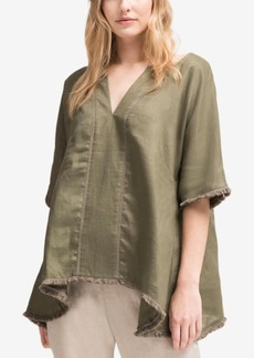 Dkny Linen Trapeze Top, Created for Macy's