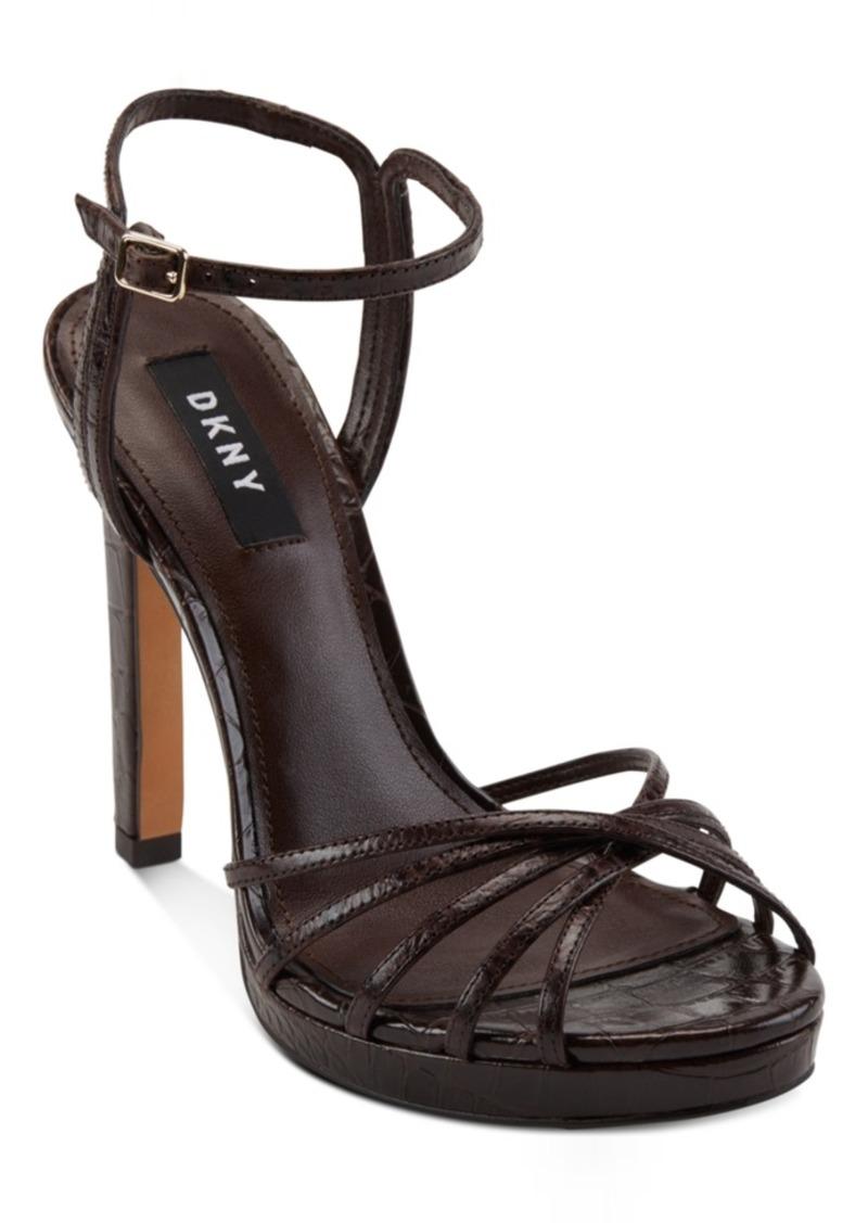Dkny Lipa Platform Dress Sandals