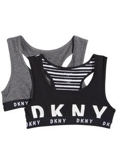Dkny Little & Big Girls 2-Pk. Cotton Sports Bras