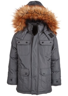 Dkny Toddler Boys Faux-Fur-Trim Parka