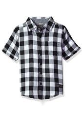 DKNY Little Boys' Short Sleeve Sport Shirt (More Styles Available)