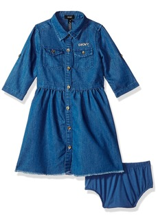 DKNY Little Girls' Casual Dress