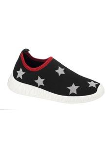 Dkny Little Girls Printed Star Slip On Sneakers Shoe