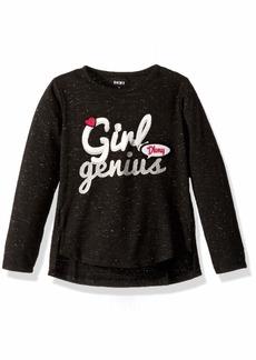 DKNY Little Long Sleeve Girl Genius Top