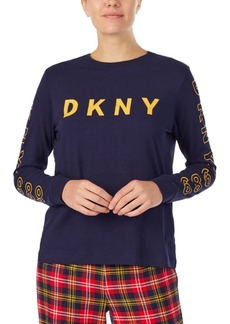 Dkny Logo-Print Sleep T-Shirt