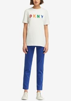 Dkny Logo-Stitch T-Shirt, Created for Macy's
