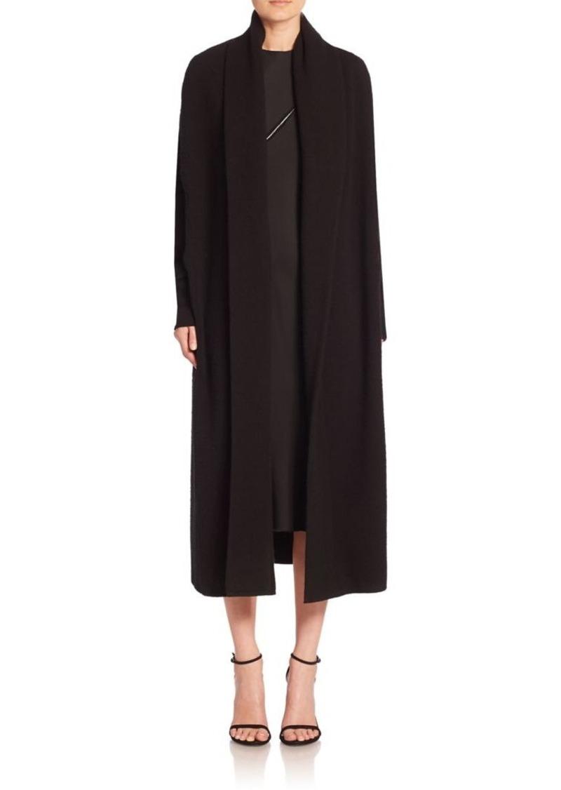 DKNY Long Open-Front Cardigan
