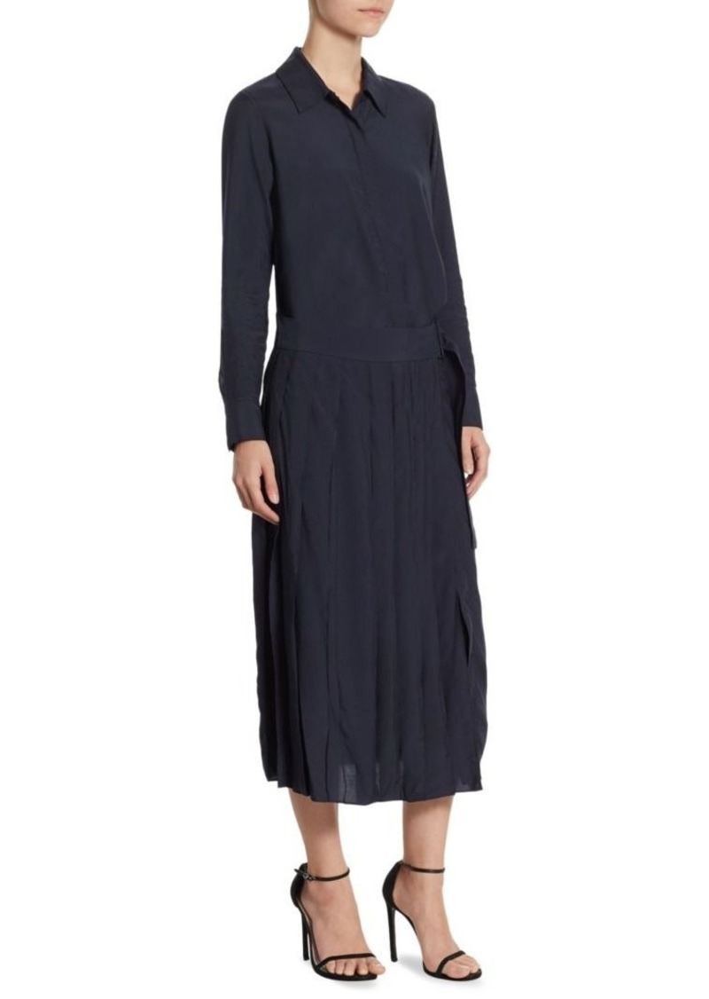 f28f2853b2e DKNY DKNY Long Sleeve Collared Shirt Dress