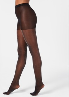 Dkny Lurex-Metallic Tights