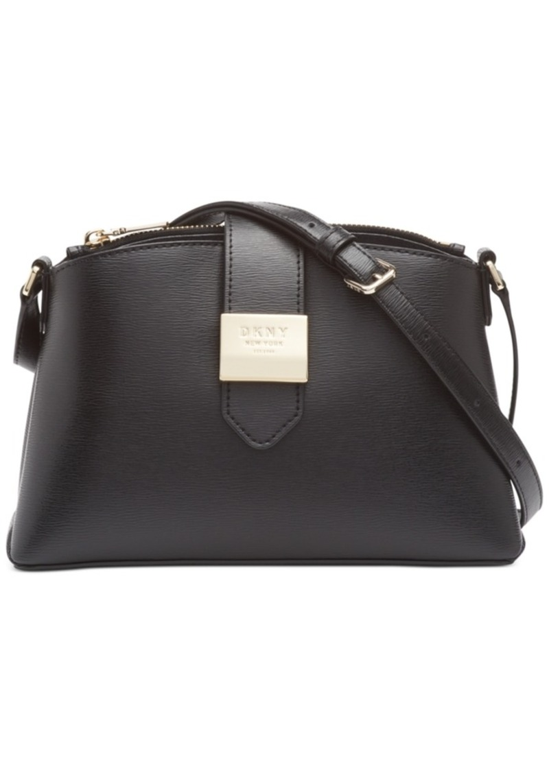 Dkny Lyla Leather Crossbody, Created for Macy's