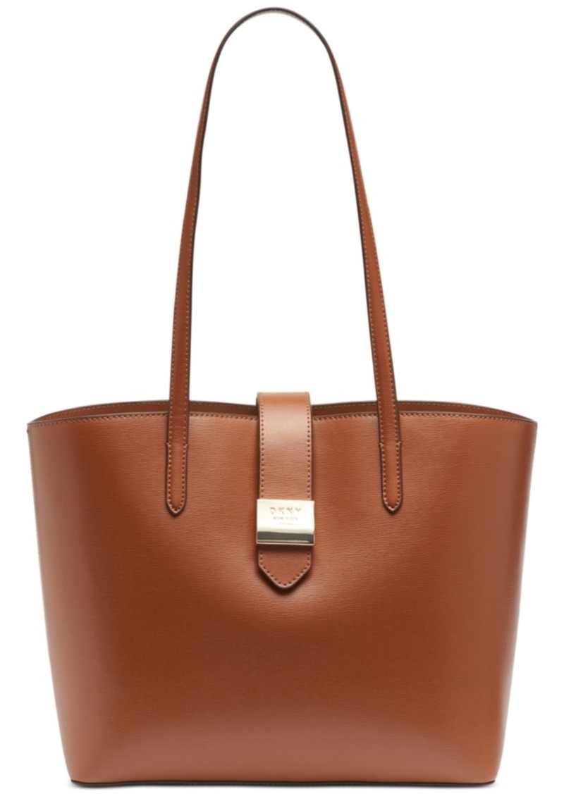 Dkny Lyla Leather Tote, Created for Macy's