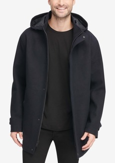 Dkny Men's Allman Wool Coat, Created for Macy's