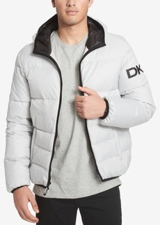 Dkny Men's Big & Tall Hooded Puffer Jacket, Created for Macy's