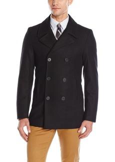 DKNY Men's Classic Peacoat Jacket