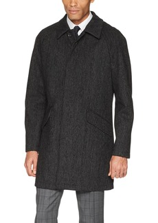 DKNY Men's Delaney Water Resistant Top Coat