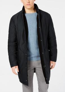 Dkny Men's Dewitt Slim-Fit Navy Puffer Overcoat