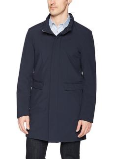 DKNY Men's Dorian Water Resistant Top Coat