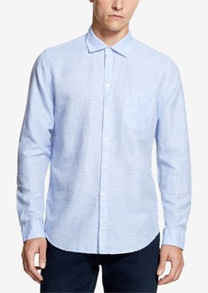 Dkny Men's Fine Striped Shirt, Created for Macy's