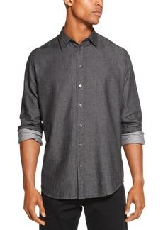 Dkny Men's Indigo Twill Shirt, Created for Macy's