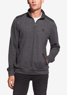 Dkny Men's Knit Quarter-Zip Shirt