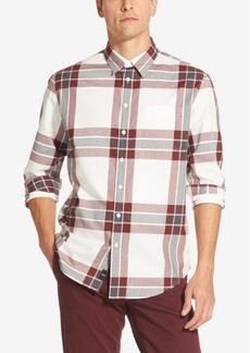 Dkny Men's Large Box Plaid Shirt