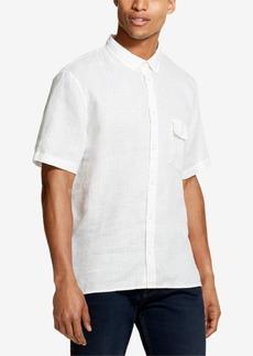 Dkny Men's Linen Woven Shirt, Created for Macy's