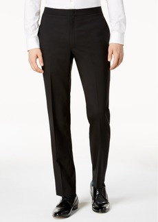 Dkny Men's Modern-Fit Black Tuxedo Suit Pants