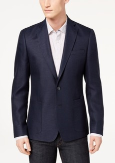 Dkny Men's Modern-Fit Blue Basketweave Sport Coat