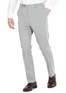 Dkny Men's Modern-Fit Light Gray Stretch Dress Pants