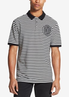 Dkny Men's Refined Stripe Polo, Created for Macy's