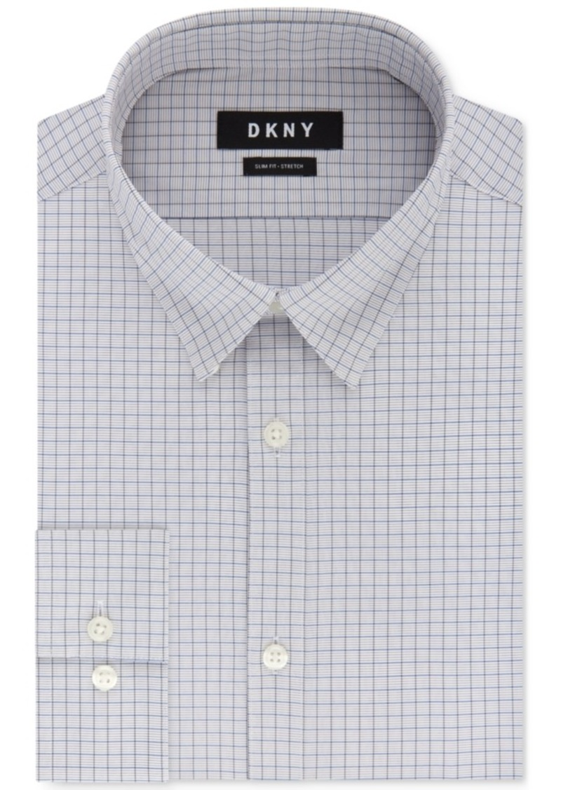 NEW $95 BAR III size 16-16.5 34//35 Men SLIM-FIT STRETCH WHITE BUTTON DRESS SHIRT