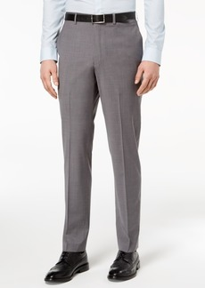 Dkny Men's Slim-Fit Stretch Neat Suit Pants