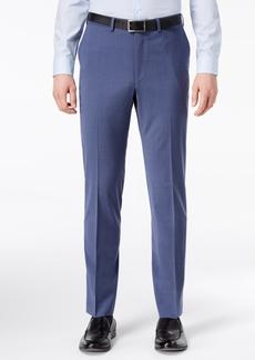 Closeout! Dkny Men's Slim-Fit Stretch Neat Suit Pants