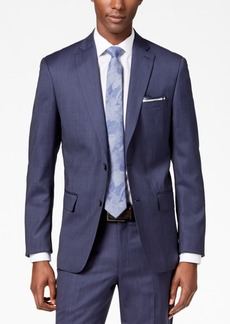 Dkny Men's Modern-Fit Stretch Textured Wool Suit Jacket