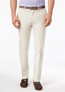 Dkny Men's Slim-Fit Tapered-Leg Sateen Pants, Created for Macy's