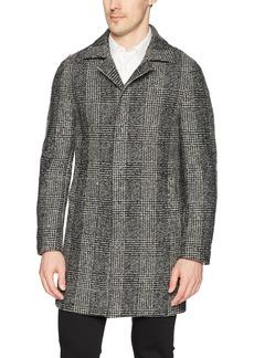 DKNY Men's Slim Fit Wool Blend Coat